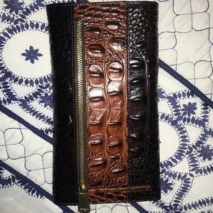 Brahmin Bags - NWOT Brahmin Soft Checkbook Wallet in Dark Cocoa